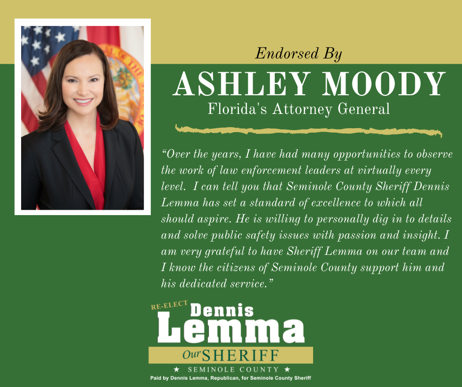 Florida Attorney General Ashley Moody