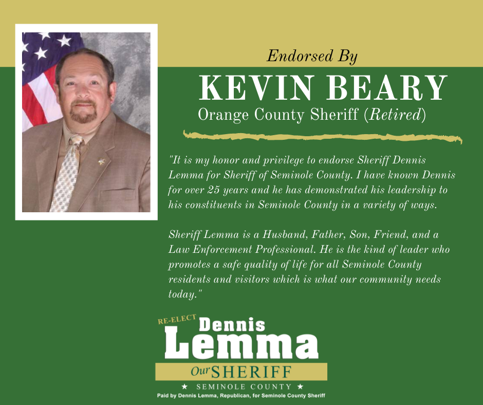 Sheriff Kevin Beary