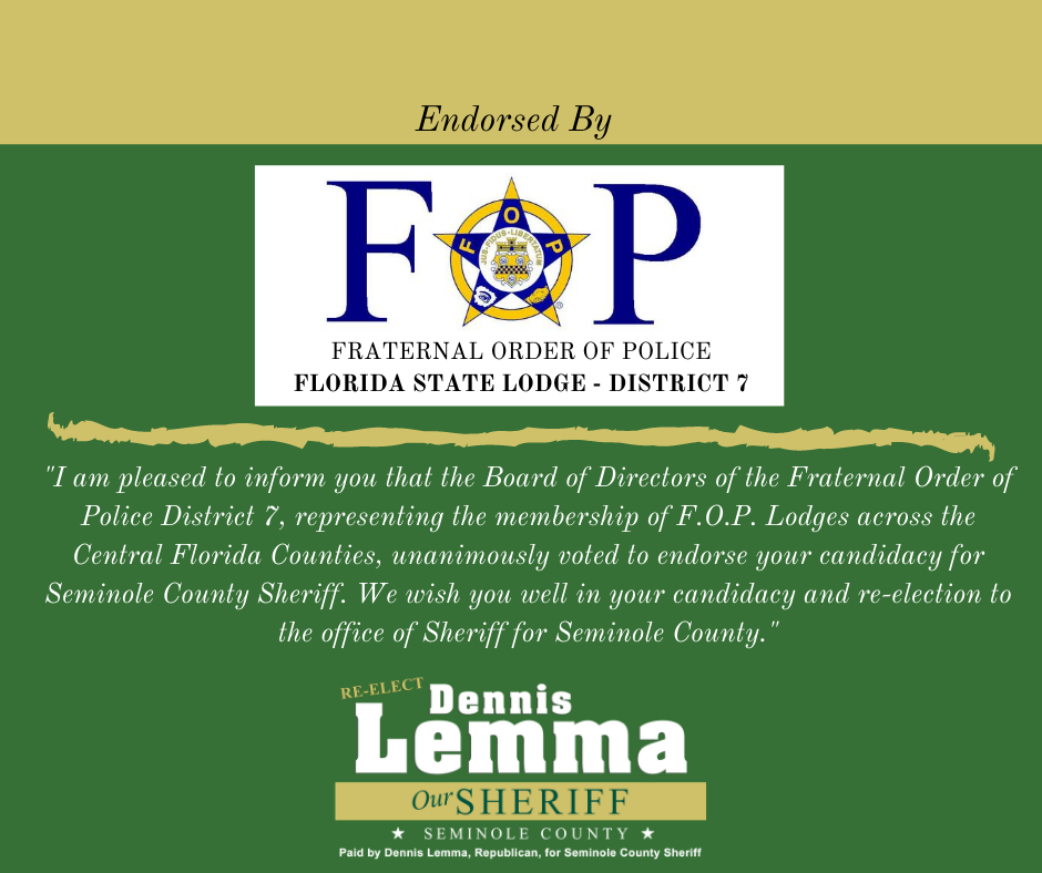 Fraternal Order of Police, Florida State Lodge-District 7