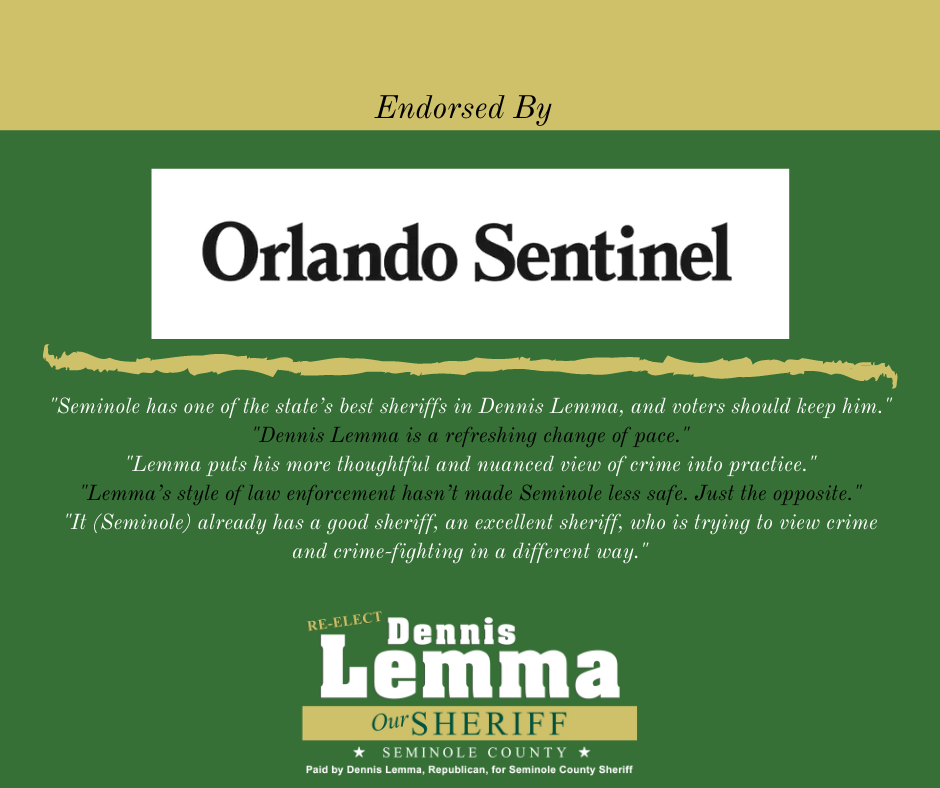 Orlando Sentinel Seminole County Endorsement