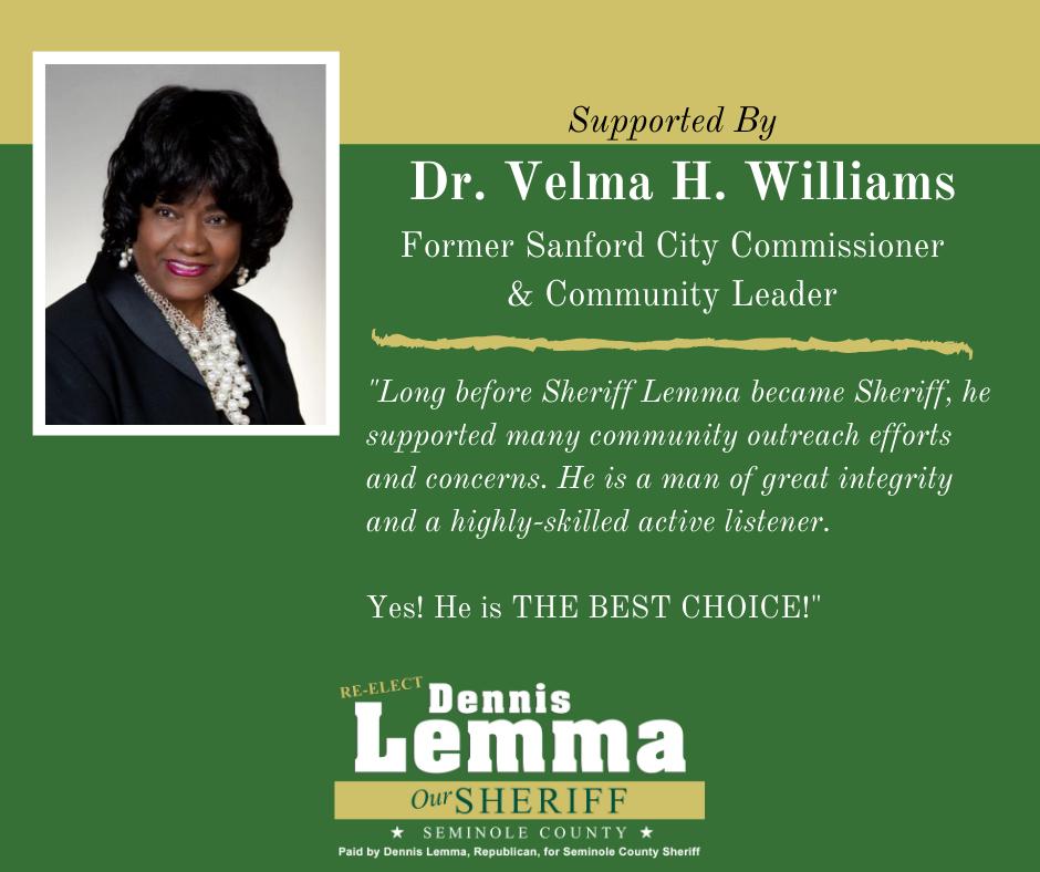 Dr. Velma Williams